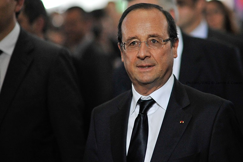 The French President Monsieur Franois Hollande