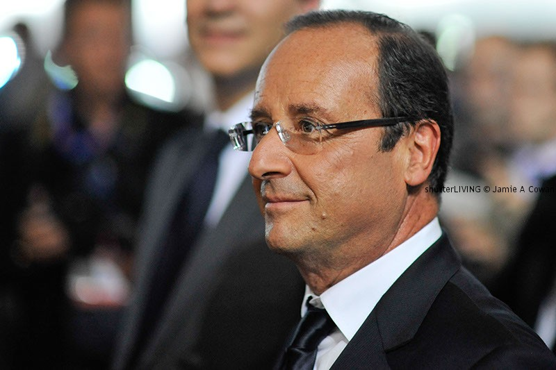 The French President Monsieur François Hollande