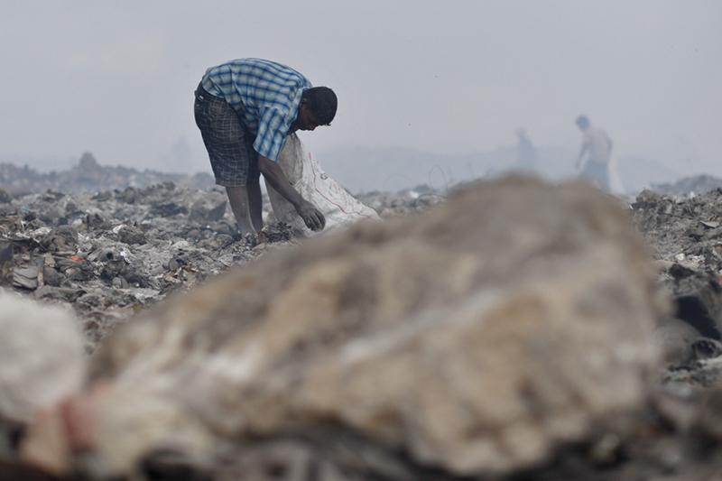 Maldives, Garbage Island Thilafushi