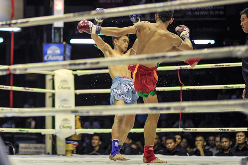 Images of Boxing in Thailand, Bangkok