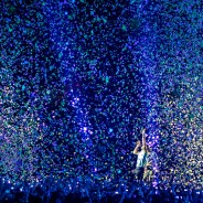 Coldplay in concert, Paris