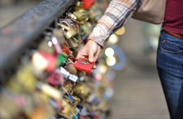Lock Bridge of Love, Paris